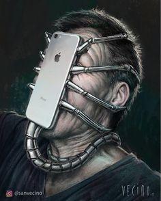 @sanvecino The iPhone 8 is released. Te presento el iPhone 8 #iphone8 #mac #alien #giger #iphone #stevejobs #ridleyscott #macintosh