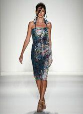 Mercedes-Benz Fashion Week : Spring 2014........#NYFW.....good midi length dress....Fall Trend - like it!