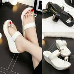 Delivery 2 Weeks  13858 diamond thick crust muffin sandals  Dropship rm44 Pos rm7sm/rm14ss  Saiz : 36-40 Upper Material: Synthetic Sole Material:  Rubber Lining Material:Synthetic Heel Height: 6 CM