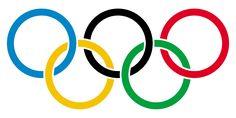 1 = het logo bestaat uit 5 gekleurde rondjes 2 = dit is het logo van de olympische spelen en ieder rondje staat voor een bepaald gedeelte van de spelen 3 = ik vind het een leuk logo met nog wat gedachten erachter