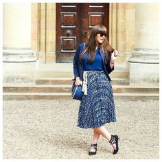 Monday blues - the good kind. Anyone else obsessed with wearing blue at the moment?