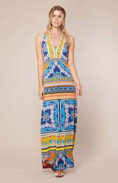| June Maxi Dress | Womens Dresses | Hale Bob Dresses - Hale Bob