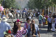 Feria de Fuengirola 2012. Ambiente en el Recinto Ferial. Celebrations, Travel, Dresses, Fashion, Fiestas, Vestidos, Moda, Viajes, Fashion Styles