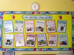 L'univers de ma classe: Les genres littéraires Read In French, Learn French, French Teaching Resources, Teaching French, Reading Centers, Reading Workshop, High School French, Writing Genres, Le Genre