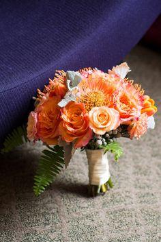 Fun Filler Flowers - Bergerons Florist #roses #orange