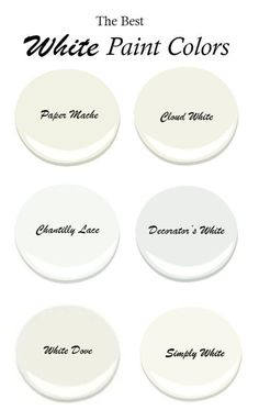 The Best White Benjamin Moore Paint Colors - The Honeycomb Home The Best White Paint Colors with little undertones, benjamin moore, PIN benjamin moore paint colors