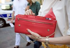 love everything about the purse wallet  color and organization