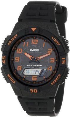 Casio AQS-800W-1B2V Men's Ana-Digi Watch