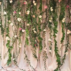 Our backdrop for a #loftonpine wedding in August with @sohappitogether. It was…