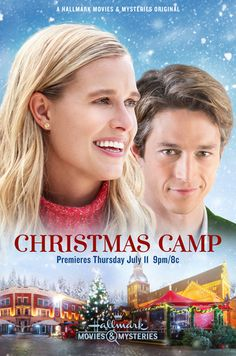 Its a Wonderful Movie – Your Guide to Family and Christmas Movies on TV: Christm… Its a Wonderful Movie – Your Guide to Family and Christmas Movies on TV: Christmas Camp – an All New CHRISTMAS in JULY Movie Premiere on Hallmark Movies & Mysteries! Family Christmas Movies, Hallmark Christmas Movies, Hallmark Movies, Family Movies, Christmas In July, Merry Christmas, Christmas Ideas, Xmas, July Movies