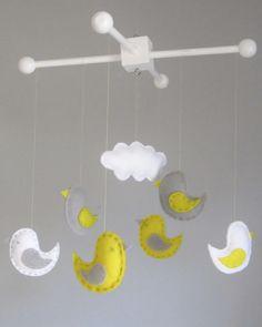 Happy bird mobile