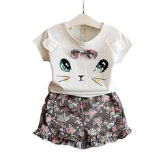 c4af16ba6 Adorable irresistible Kitty Summer Dress! Girls Fashion Clothes, Cheap Girls  Clothes, Clothes 2018