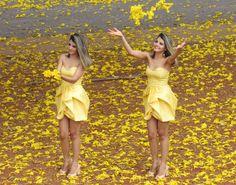 Tallita Martins - Vestido amarelo
