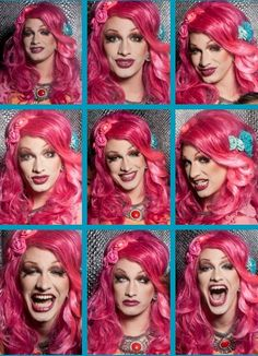 """Jinkx Monsoon... the Becky-est drag queen of all the drag queens. -- """"Water off a duck's back."""" <3"""