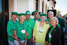 Emmanuel College Alumni St. Patrick's Event | Naples, FL | 3.15.14 - Mary Alice O'Hearn-Yafrate '65, Jean McMullin, Fran Yafrate, Bill Henderson, Carolyn Henderson, John & Pat Flaherty Nee '61