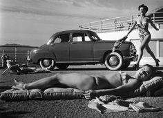 Les photographes de nos vacances (4/8) : Robert Doisneau. Les vacances, 1951. ROBERT DOISNEAU / GAMMA-RAPHO