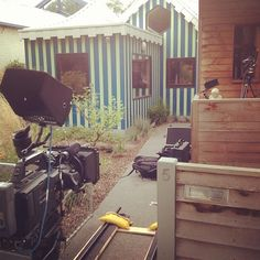 Shooting house in Melbourne for UK show Extreme Homes