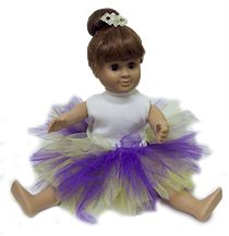 Doll Tutu. Dress up your doll as a dancer! More at MakingFriends.com