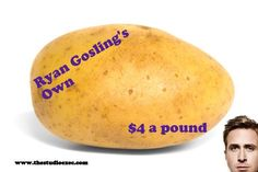 Ryan Gosling launches his own brand of vegetables
