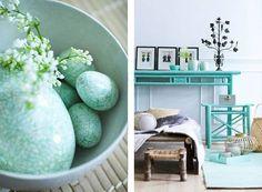 turquoise deco