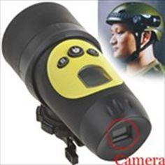 1.3MP HD 720P Waterproof Sport Helmet Action Camera Cam DVR 1280 x 720/30FPS Sports Helmet, Action, Camcorder, Digital Camera, Minions, Bike, Stuff To Buy, Design, Raincoat