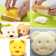 amazones gadgets DIY Plastic Bear Cake Cutter Sandwich Toast Bread Mold Maker: Bid: 9,41€ Buynow Price 8,94€ Remaining 08 days 23 hrs