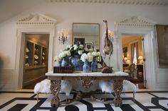 Foyer - Turner Davis Interiors - Knollwood - 2012 Atlanta Symphony Assoicates' Decorators' Showhouse & Gardens