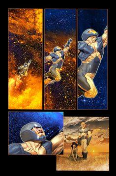 Comic Book Pages, Comic Books Art, Comic Art, Character Creation, Character Art, Constantine Comic, Valiant Comics, Comic Styles, Art Studies