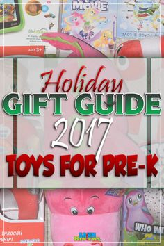 So many choices for young kids in the toy aisle. These are our picks for gifts that will certainly please! Check out our Toys for Younger Kids Gift Guide! - SahmReviews.com