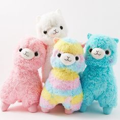 Alpacasso Plushies - Rainbow (Jumbo)