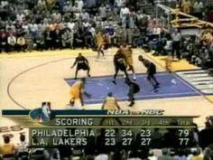 2001 NBA Finals: Sixers at Lakers, Gm 1 part 10/14