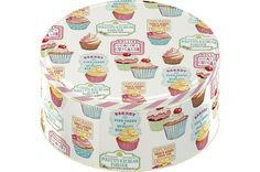 Retro Treats Set of 2 Cake Tins - product images  of