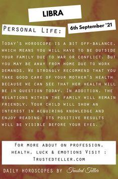 Libra Daily Horoscope, Spiritual Awakening, Behavior, Finding Yourself, Spirituality, Let It Be, Shit Happens, Feelings, Life