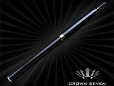 Crown 7 traditional model.   We have the latest e-cigarette models and a great variety of e-liquid flavors. Visit us at www.e-cigarilicious.com