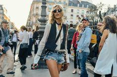 Denim in Paris #fashionspree