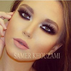 Love her eye makeup!
