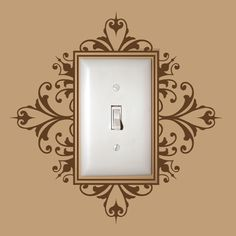 Light Switch Decal