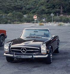 1969 mercedes sl.