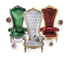 Modern Hotel Furniture King and Queen Wedding Throne Chair picture from Foshan XJ Furniture Co. view photo of King Chair, Queen Chair, Throne Chair. Baroque Furniture, Unique Furniture, Luxury Furniture, Italian Furniture, Furniture Design, King Furniture, Furniture Online, Chair Design, King Chair