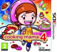 Cooking Mama 4 Kitchen Magic 3DS rom