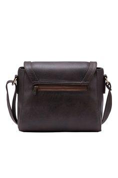 Túi đeo chéo Eva màu nâu - Thương hiệu Lee&Tee