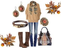 """fall outfits polyvore 