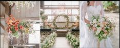 Flowers cascading from the ceiling, hanging geometric lighting, huge floral hoop, delicate cape over dress. Floral Wedding, Wedding Flowers, Wedding Dresses, Bride Bouquets, Garden Styles, Table Centerpieces, Amazing Gardens, Flower Arrangements, Wedding Planner