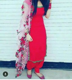 HappyShappy - India's Own Social Commerce Platform - Women's fashion - Design Punjabi Suits Party Wear, Punjabi Salwar Suits, Punjabi Dress, Salwar Kameez, Churidar, Punjabi Girls, Anarkali, Dress Indian Style, Indian Dresses