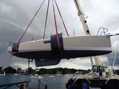 Pogo 36 – die Class 40 für Fahrtensegler Fast Boats, Boat Stuff, Boat Design, Catamaran, Sailboats, Sailing, Van, Sailing Ships, Boats