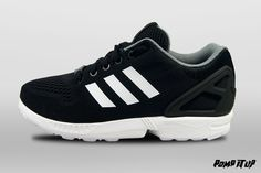 Adidas ZX Flux (CBLACK/FTWWHT/CBLACK) For Men Sizes: 40 to 46 EUR Price: CHF 150.-  #Adidas #ZXFlux #Sneakers #SneakersAddict #PompItUp #PompItUpShop #PompItUpCommunity #Switzerland Baskets Adidas, Adidas Zx Flux, Chf, Switzerland, Adidas Sneakers, Shoes, Fashion, Tennis, Undertaker
