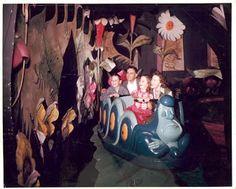 Vintage Disney Alice in Wonderland: Original Alice in Wonderland Attraction Color Photographs