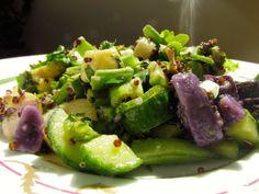 ayurvedic persian cucumber salad