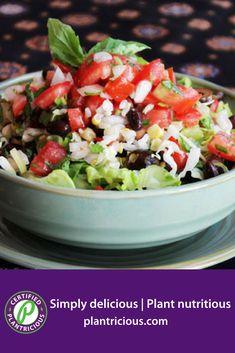 Burrito Bowl - Straight Up Food Vegan Gluten Free, Vegan Vegetarian, Dairy Free, Plant Based Whole Foods, Plant Based Recipes, Mexican Food Recipes, Whole Food Recipes, Ethnic Recipes, Whole Food Diet