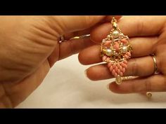 Tutorial orecchini/modulino,,SIMUL,,💛💚💛💚 - YouTube Earring Tutorial, Beaded Earrings, Brooch, Tutorials, Jewelry, Youtube, Fashion, Ear Rings, Moda